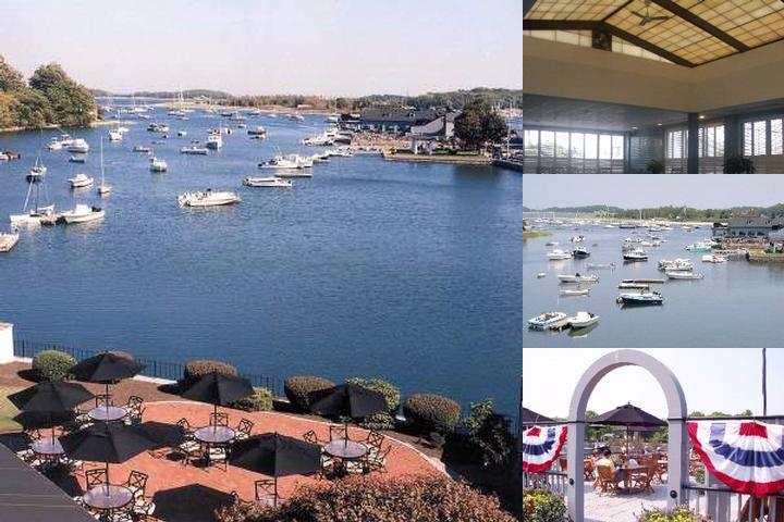 The Cohasset Harbor Resort photo collage
