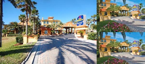 Best Western Seaside Inn St.augustine Beach Fl photo collage
