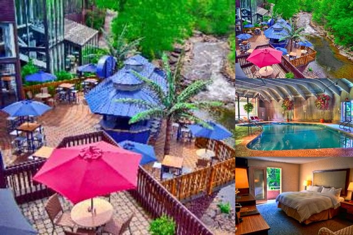 The Woodlands Inn & Resort photo collage