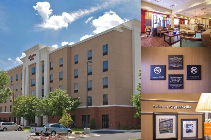 Hampton Inn Greenville photo collage