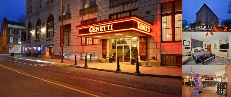 Genetti Hotel photo collage