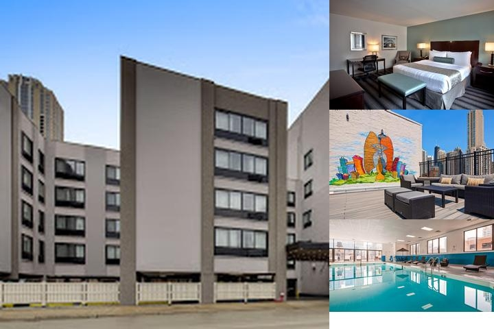 Best Western River North Hotel photo collage