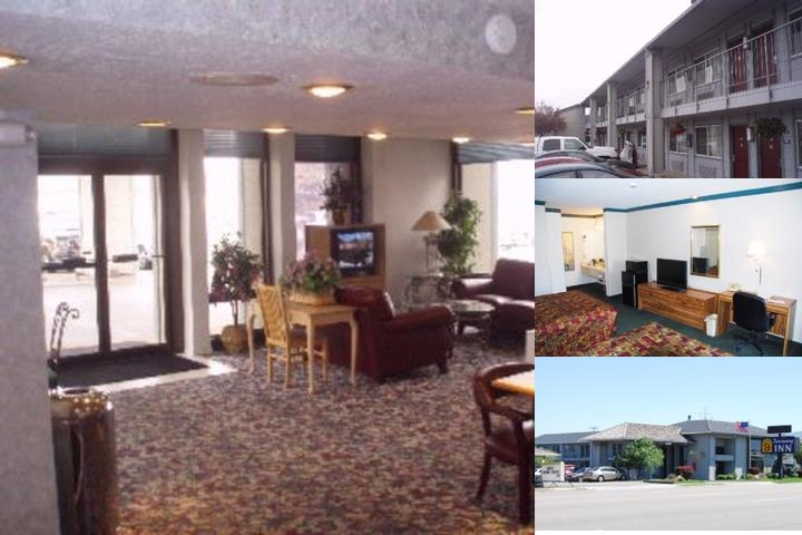 National 9 Discovery Inn photo collage