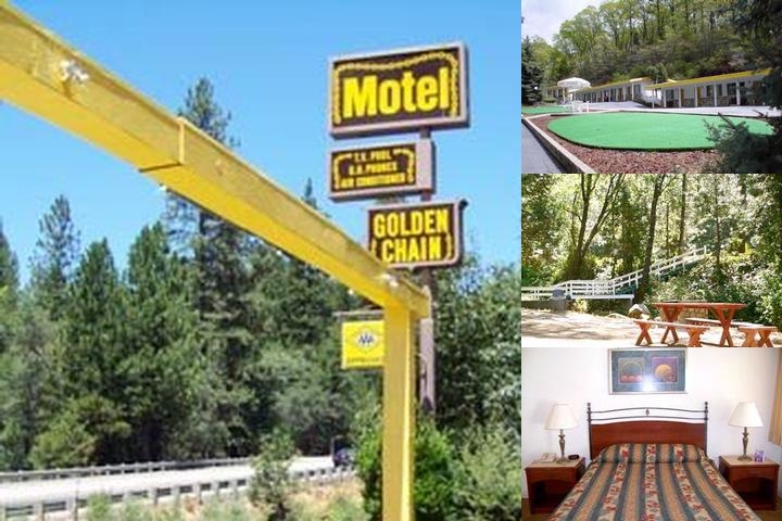 Golden Chain Resort Motel photo collage