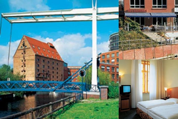 Sorat Hotel Humboldt Mühle Berlin photo collage