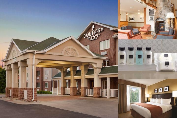 Country Inn & Suites by Carlson Lincoln North photo collage