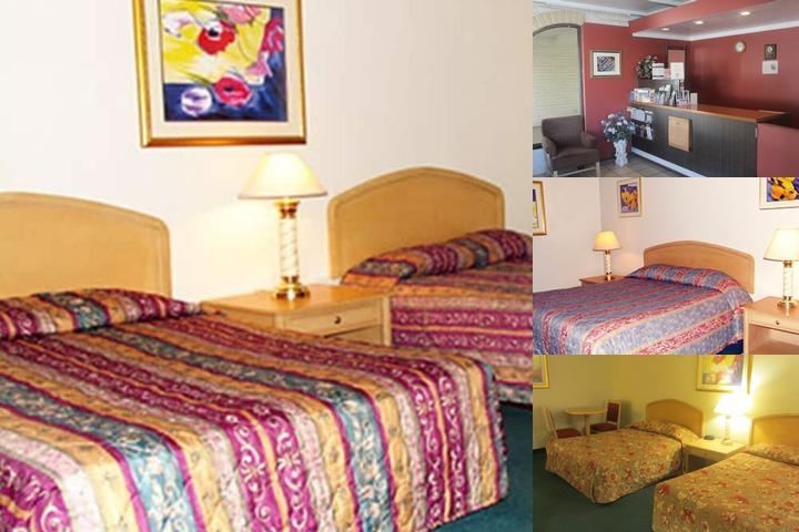 Lodi El Rancho Motel photo collage