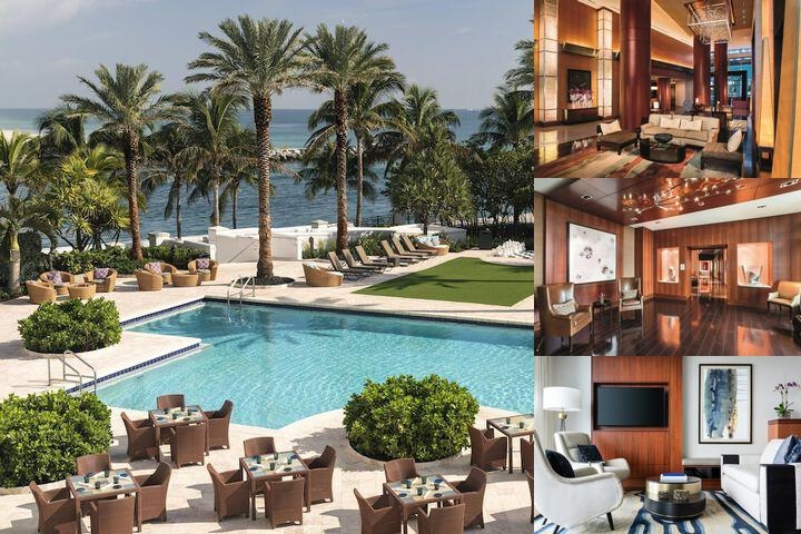 The Ritz Carlton Bal Harbour Miami photo collage