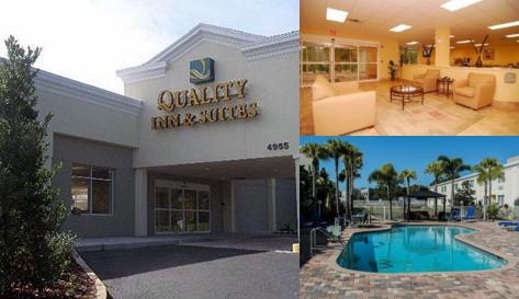Quality Inn & Suites by Choice Hotels Main Entrance