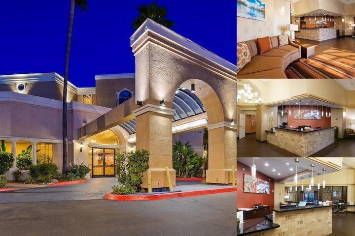 Best Western Escondido Hotel photo collage