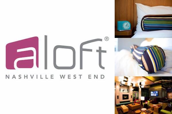 Aloft Nashville West End photo collage