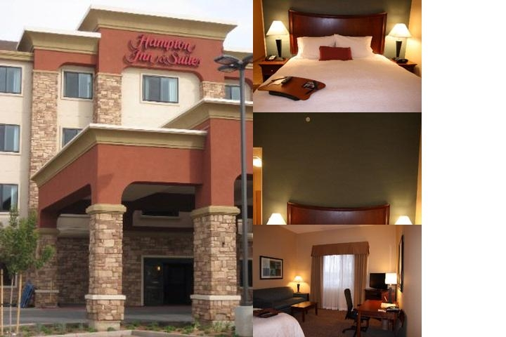 Hampton Inn & Suites Folsom photo collage