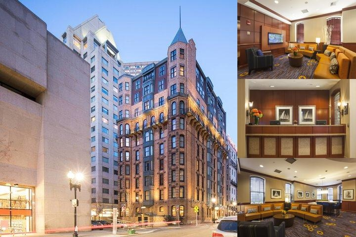 Courtyard Marriott Copley Square Hotel Boston photo collage