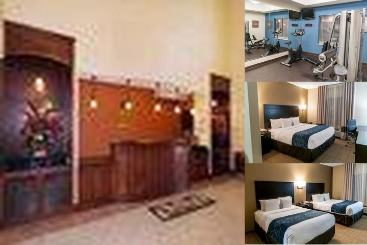 Comfort Suites Hobby Airport photo collage