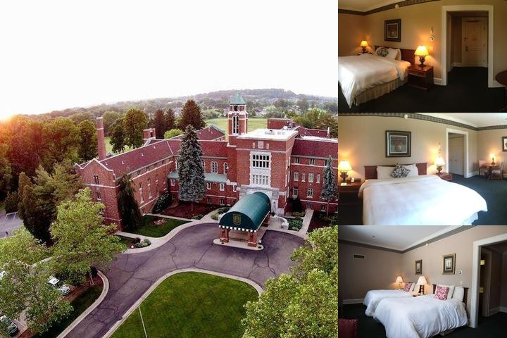 Bertram Inn at Glenmoor photo collage