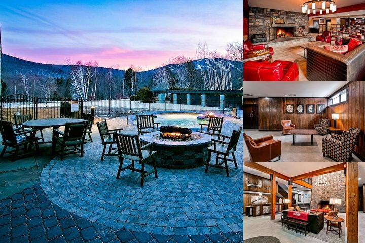 Killington Mountain Lodge photo collage