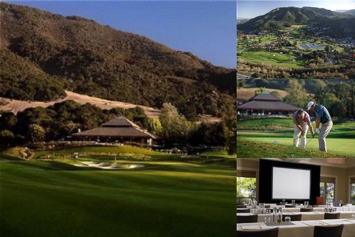 Carmel Valley Ranch photo collage