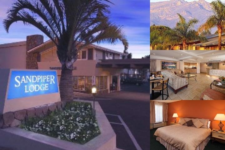 Sandpiper Lodge photo collage
