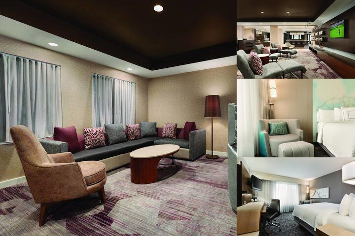 Topeka Courtyard by Marriott photo collage