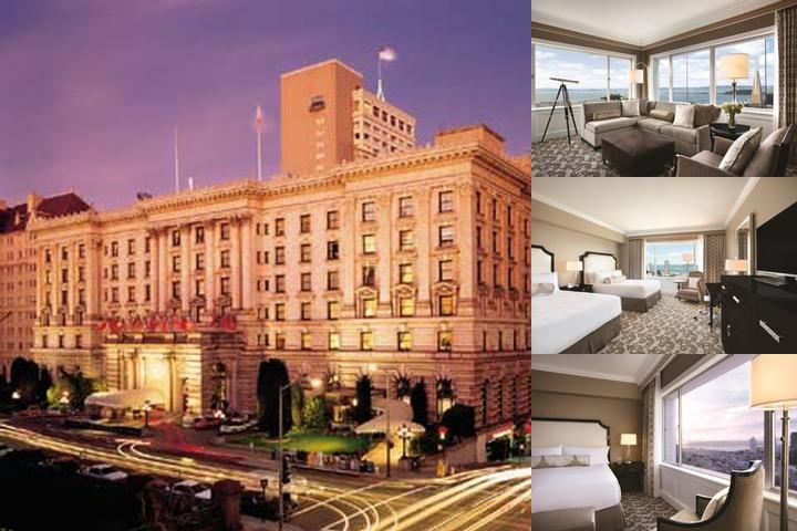 Fairmont San Francisco photo collage