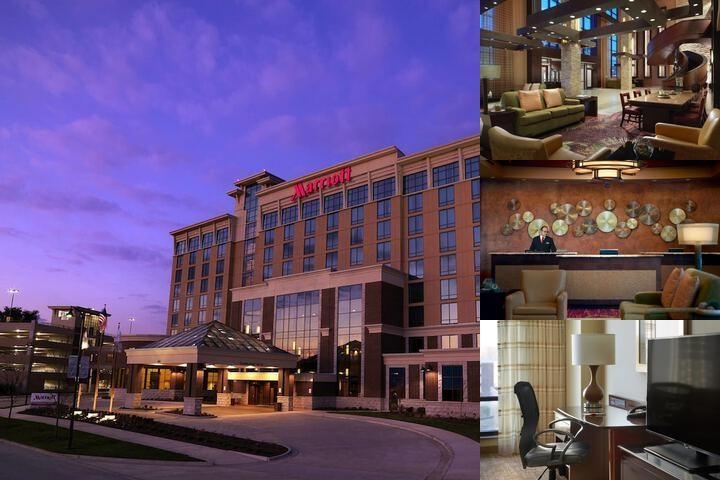 Bloomington Normal Marriott Hotel photo collage
