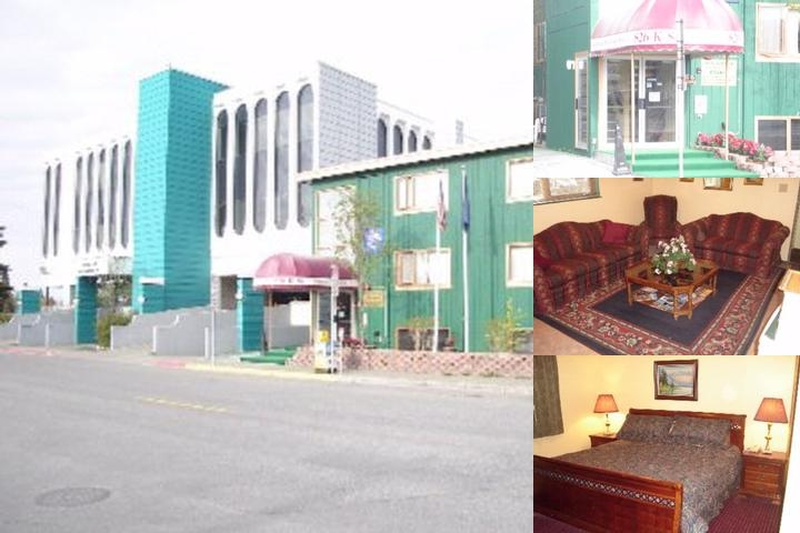 Anchorage Downtown Hotel Photo Collage