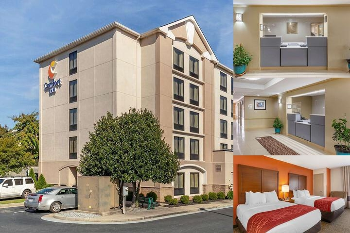 Comfort Inn Greensboro Wendover photo collage