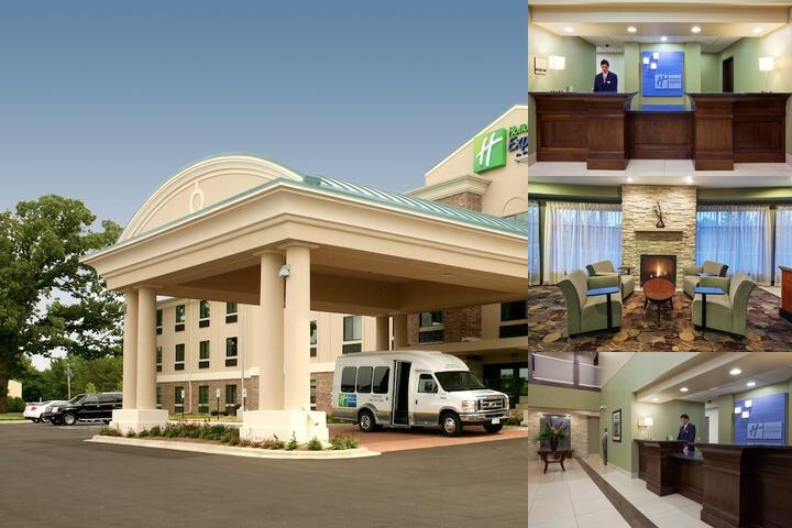 Holiday Inn Express Hotel & Suites Madison Verona photo collage