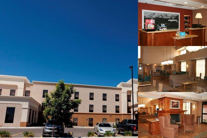 Hampton Inn & Suites Riverton photo collage