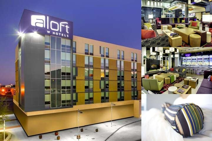 Aloft Austin at the Domain photo collage