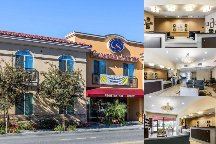 Comfort Suites Near Industry Hills Expo Center photo collage