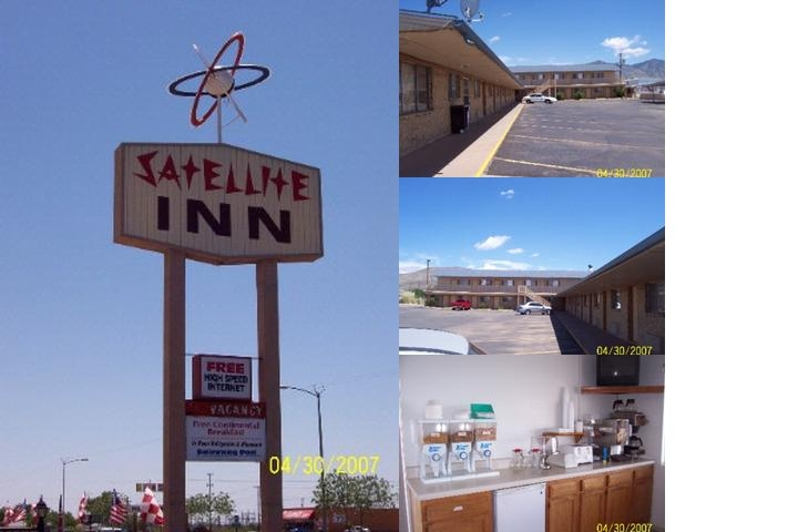 Satellite Inn photo collage