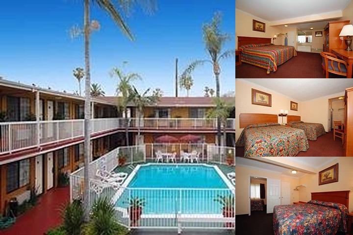 Saharan Motor Hotel Hollywood / West Hollywood photo collage