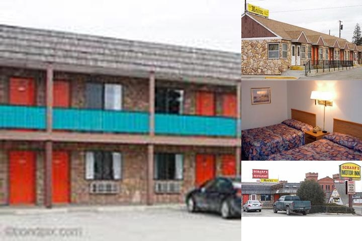 Budget Inn (Formerly Scharf's Motor Inn) photo collage