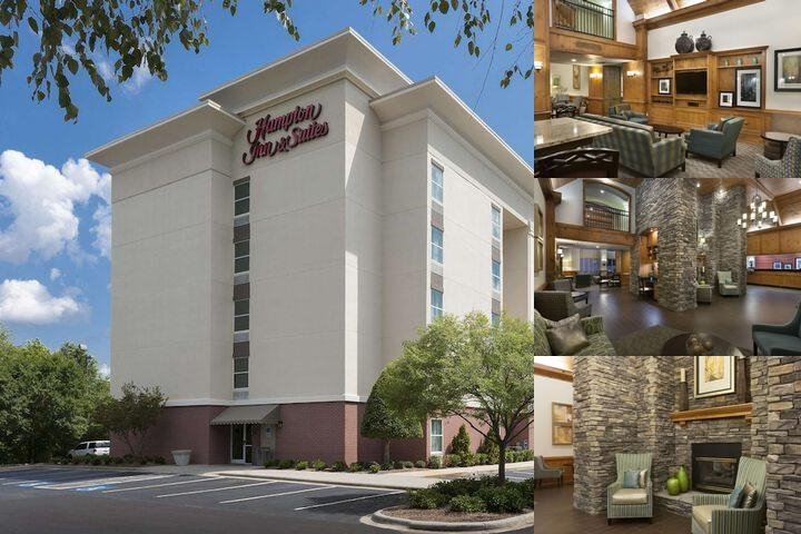 Hampton Inn & Suites Pineville photo collage