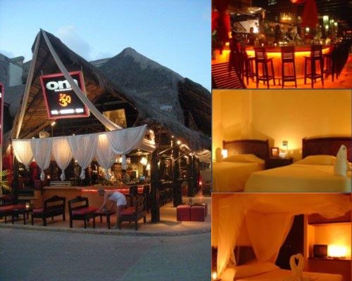 Om Playa Del Carmen Hotel & Lounge photo collage