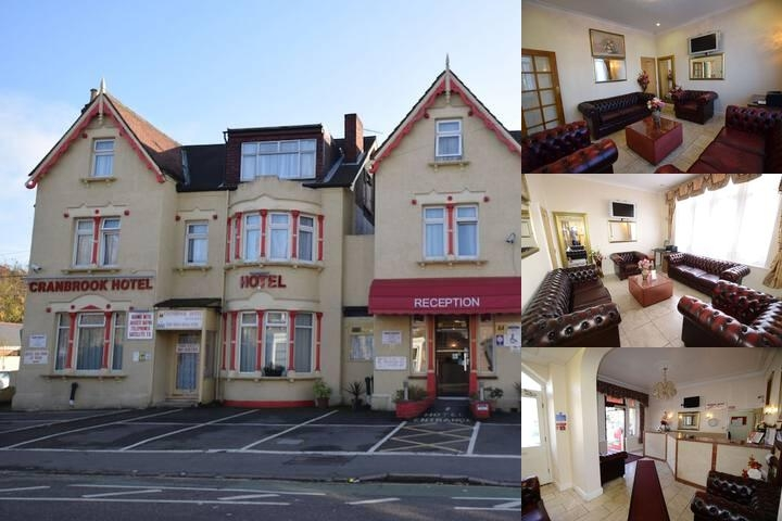 Cranbrook Hotel photo collage