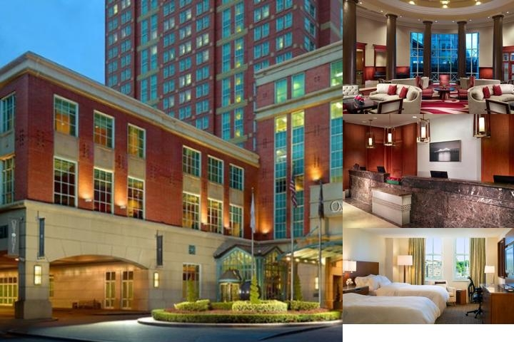 Omni Providence Hotel photo collage