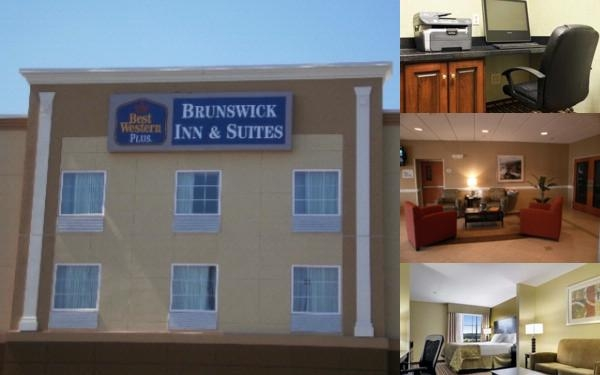 Best Western Plus Brunswick Inn & Suites photo collage