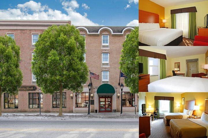 The Shippen Place Hotel photo collage