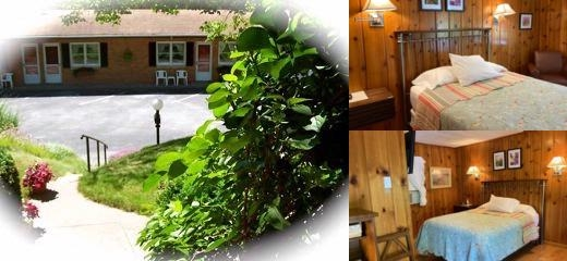 Ludington Blue Spruce Inn photo collage