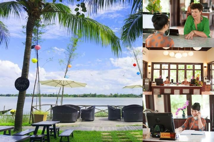 Vinh Hung Riverside Resort & Spa photo collage