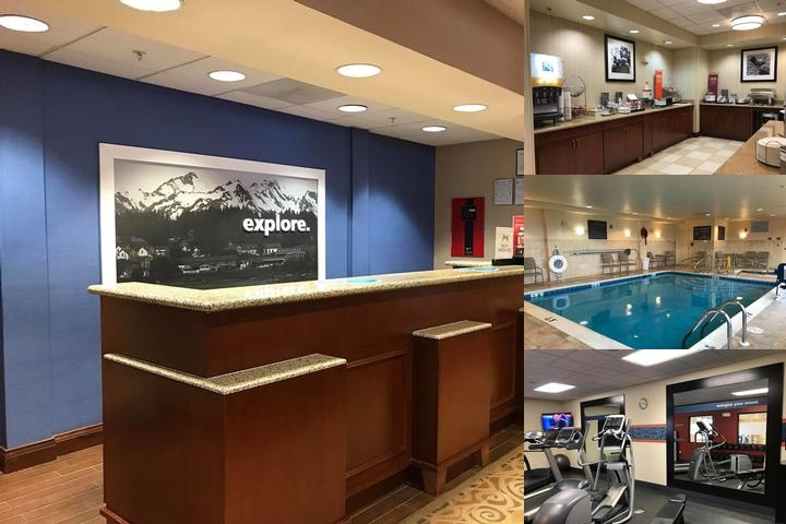 Hampton Inn Elkins photo collage