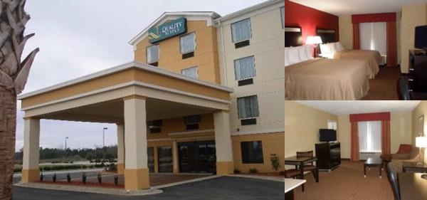 Quality Suites Warner Robins photo collage