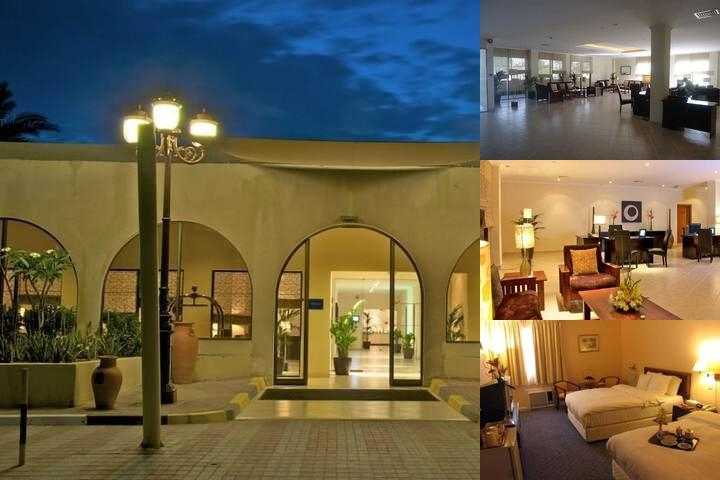 Dhafra Beach Hotel photo collage