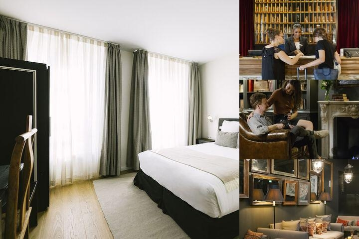 Hotel Pulitzer Paris photo collage