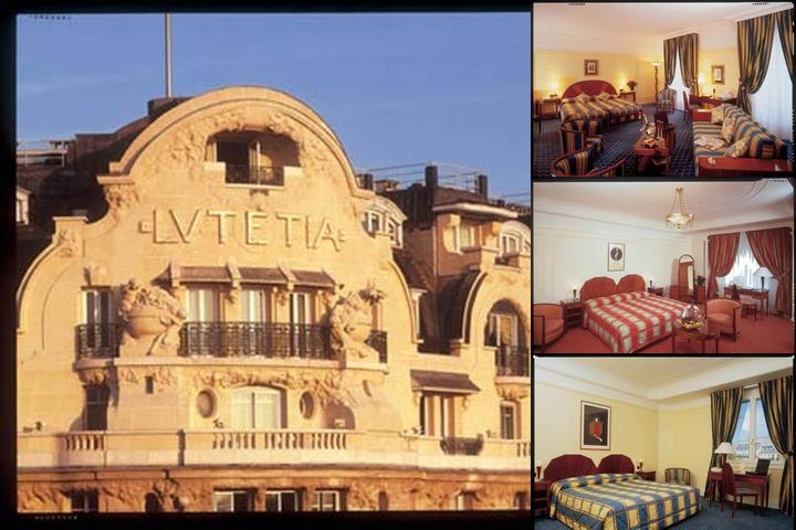 Hotel Lutetia photo collage
