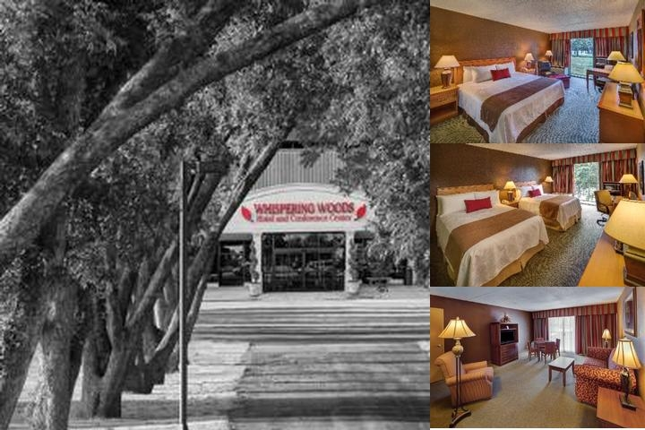 Whispering Woods Hotel & Conference Center photo collage