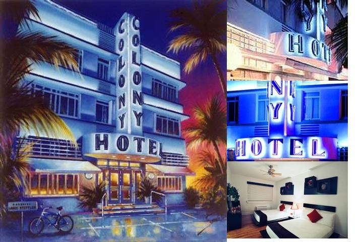 Colony Hotel photo collage