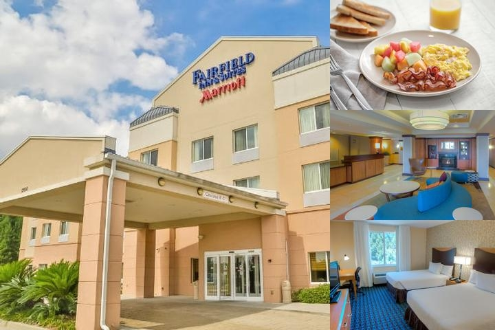 Fairfield Inn & Suites by Marriott Mobile Daphne / photo collage